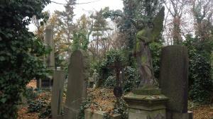 The Olsany Cemetery.